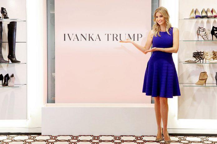 Ivanka Trump tem marca de roupas e acessórios