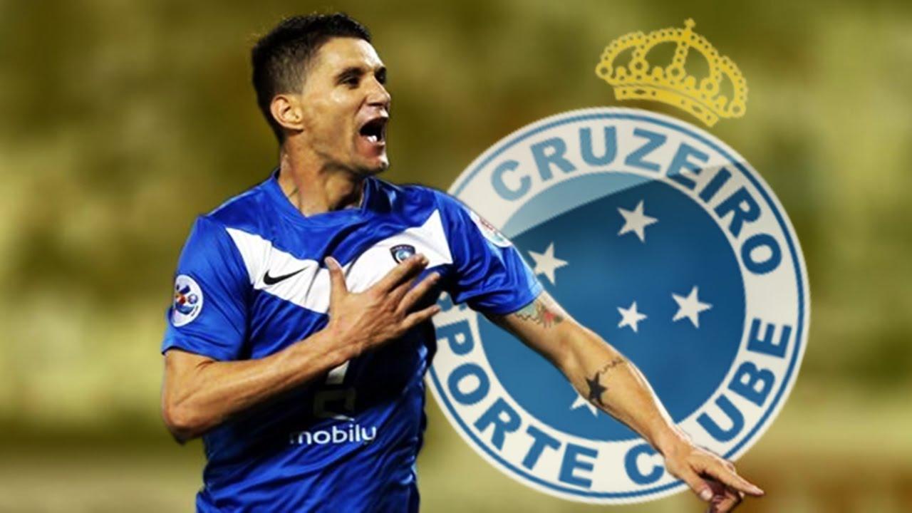 Thiago Neves marcou um gol importante pelo Cruzeiro na vitória sobre o  Nacional do Paraguai a0cc0178dc348