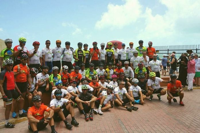 Galera da bike em Key West
