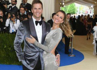 Tom Brady e Gisele Bündchen no MET Gala