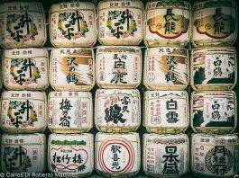 Barris de saque, doados por famÍlias influentes aos templos no Japão, Em Nara, primeira capital do Japão