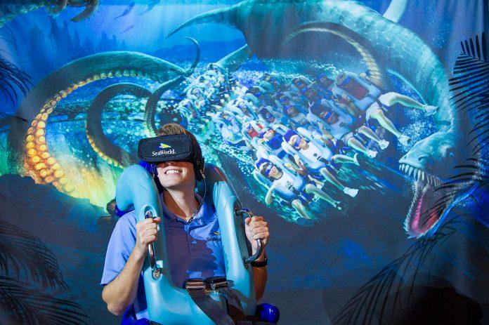 Montanha russa Kraken é a nova atração do SeaWorld