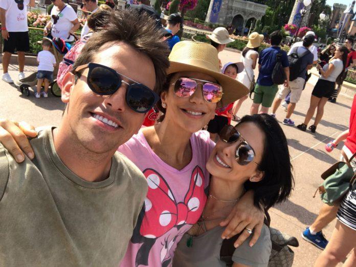Rodrigo Branco, Ivete Sangalo e Bella Falconi