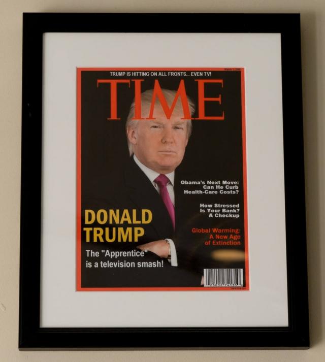 'Time' pede que Trump retire capas falsas de campos de golfe