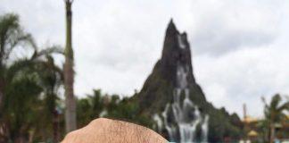 Relógio evita filas no volcano bay