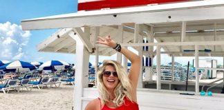 Karina Bacchi já está em Miami para ter o filho