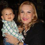 Marta Ramos e seu netinho