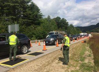 Blitz da Border Patrol em New Hampshire
