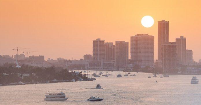 Miami bateu recorde de calor em julho. Crédito Aurimas_Miami Times