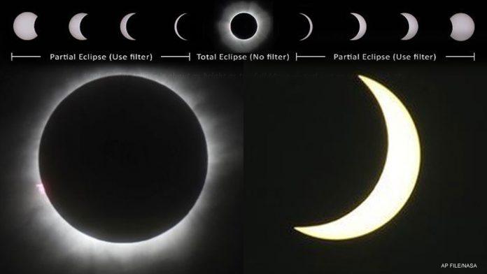 Eclipse vai ser visto em todo o território americano