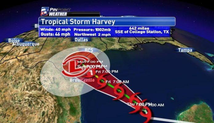 Tempestade tropical Harvey