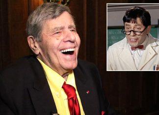 """Jerry Lewis fez muito sucesso no Brasil com o filme """"Professor Aloprado"""""""