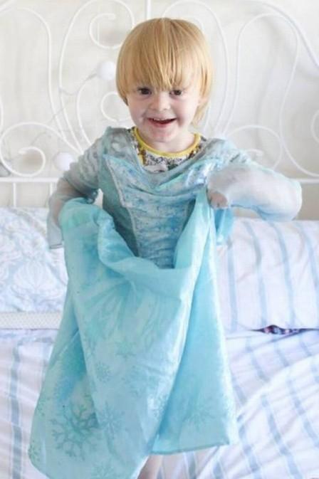 Noah foi impedido de ter dia de princesa