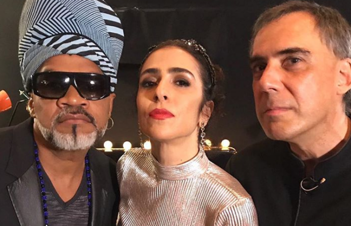 Carlinhos Brown, Marisa Monte e Arnaldo Antunes e se uniram para surpreenderem seus fãs