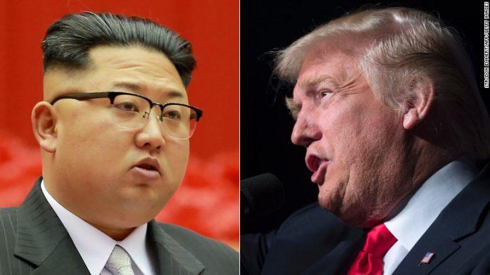 Trump e o líder coreano Kim Jong Un vão se encontrar no dia 12 de junho