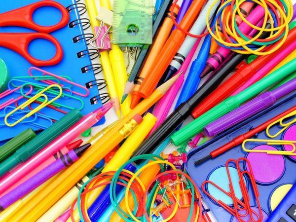 Vários itens da lista de material escolar estarão livres de imposto este final de semana