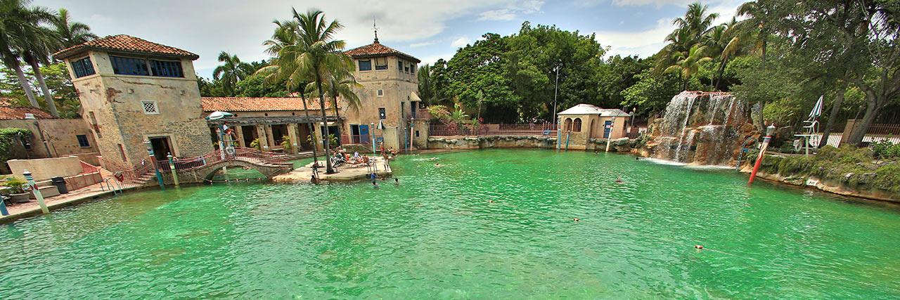 Venetian Pool é uma das atrações de Coral Gables