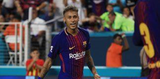 Neymar já se despediu de seus companheiros do Barcelona e ganhou uma mensagem de Lionel Messi