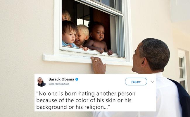 Tuíte do ex-presidente bateu recorde de likes