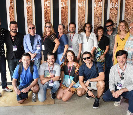 Atores, diretores e organizadores do Brazilian Film Festival of Miami