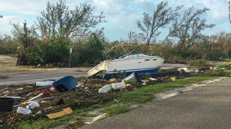Irma deixou seis mortos nas ilhas britânicas do Caribe