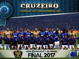 O time estrelado de Belo Horizonte conquistou pela quinta vez a Copa do Brasil