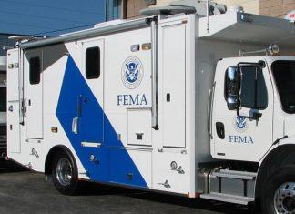 FEMA, órgão governamental federal dedicado ao apoio às vítimas de desastres naturais