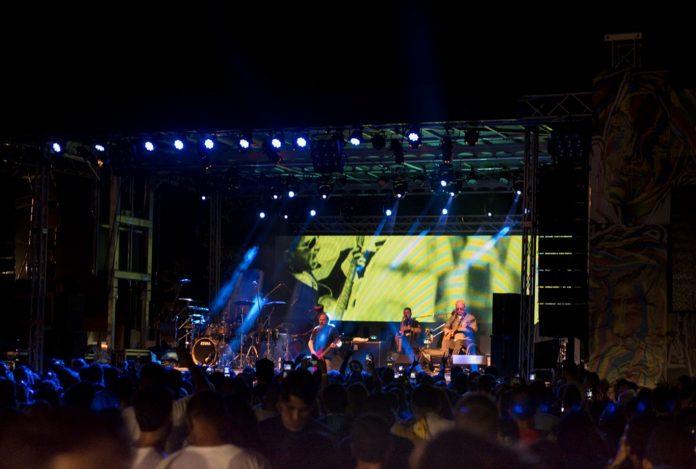 A banda Paralamas do Sucesso foi a atração principal do evento
