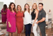 Helen Louzada, Jane Sampaio, Jaqueline Gonçalves, Patricia e Alcimar Santana