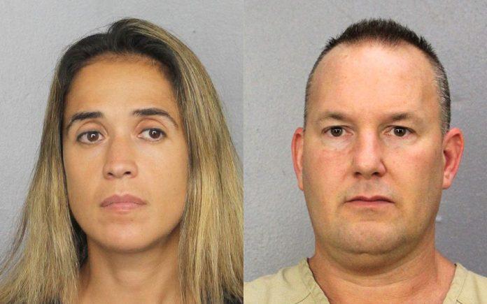 Eric Robinson e Isabella Tagliarini estão presos