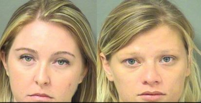 Kristen e June tiveram overdose de heroína com os bebês dentro do carro