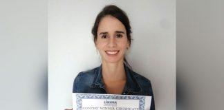Marcella Monteiro Corrêa Lima. De 34 anos, foi a grande vencedora do Contest 2017