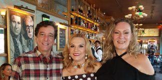Jorge e Esterliz Nunes com Marta Ramos
