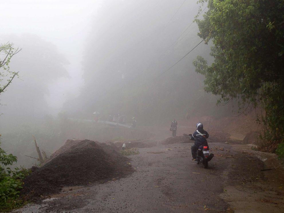 Tempestade tropical Nate causou destruição na Costa Rica