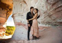 Sergio Guizé e Bianca Bin formam o casal protagonista de 'O Outro Lado do Paraíso'