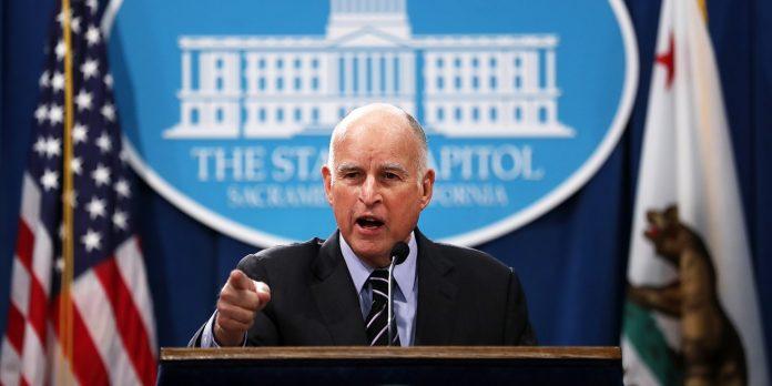 Governador da Califórnia Jerry Brown