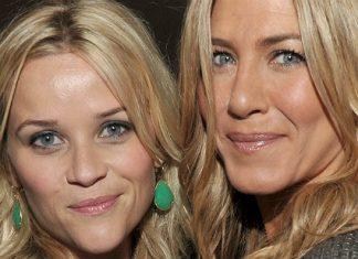 As atrizes Reese Witherspoon e Jennifer Aniston vão estrelar série da Apple
