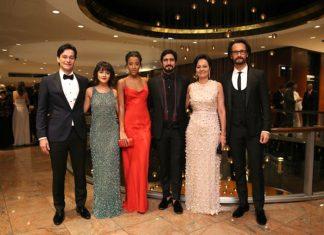 Atores brasileiros estiveram presentes à premiação