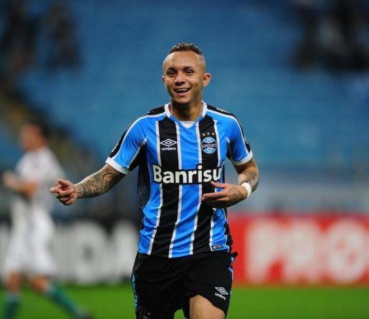 Everton foi autor do gol da vitória do Grêmio sobre o Pachuca do México