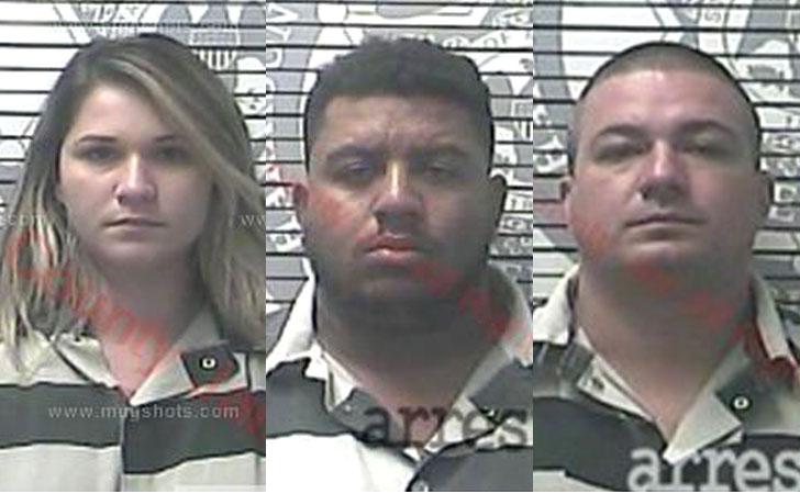 Os três foram presos acusados de clonagem de cartões de crédito
