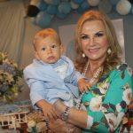 Marta Ramos e o seu netinho