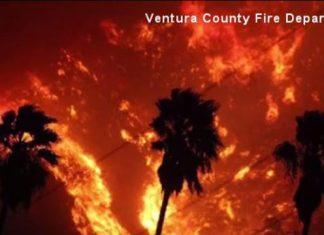 Incêndios estão fora de controle na Califórnia