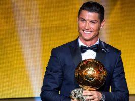 Cristiano Ronaldo se iguala a Messi e ganha sua quinta Bola de Ouro
