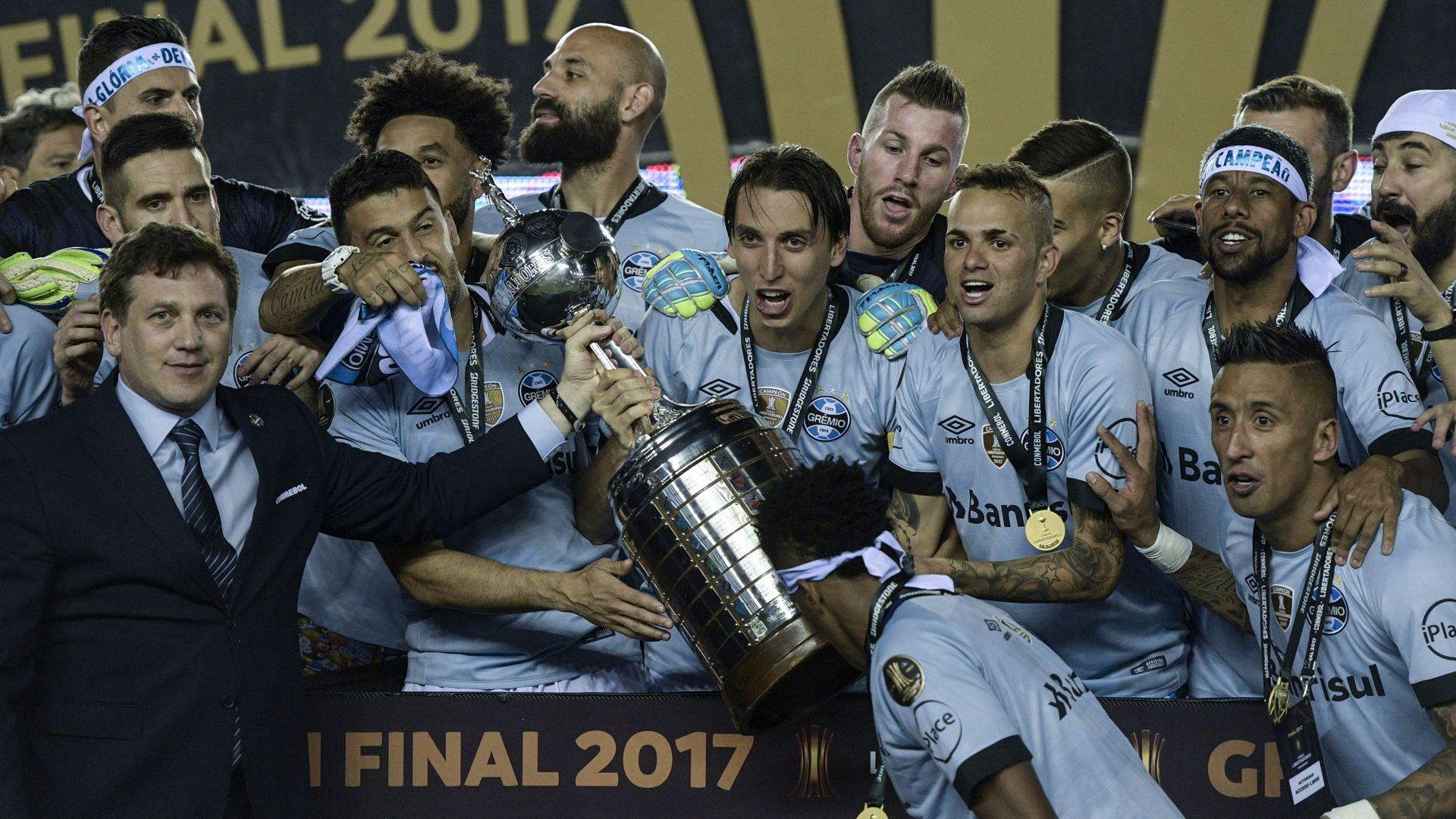 gremio campeao copa libertadores 2017 Libertadores, os roteiros dos clubes brasileiros