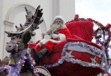 Papai Noel Luizão é apedrejado, mas promete voltar e fazer as crianças sorrir