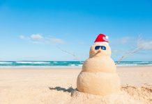 Snowman na Flórida Crédito: Owmedia