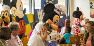 Jantar com o Chef Mickey