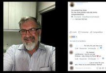 Herman Durwood foi espancado em Uberlândia FOTO Reprodução Facebook