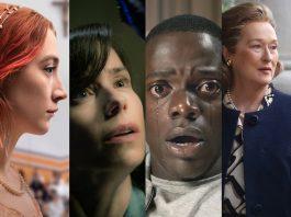 'Lady Bird', 'Shape of Water, 'Get Out!' e 'The Post' estão entre os indicados ao Oscar Foto Divulgação