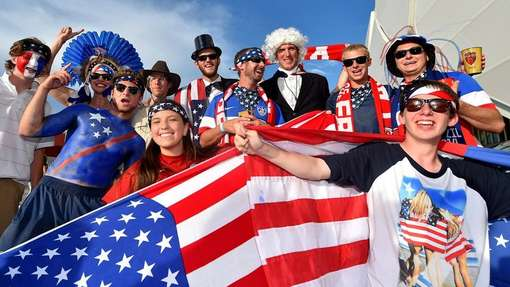 Turistas americanos durante a Copa 2014 FOTO Terra